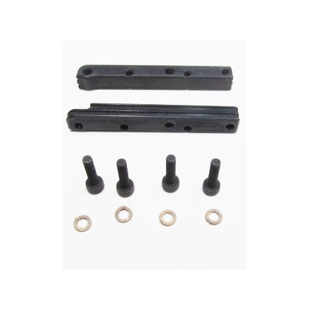 m2c 6721 TEKNO TOP RAILS ONLY FOR  3 PC MOTOR MOUNT